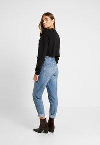 Topshop - FLOWER - Sweatshirt - black - 2