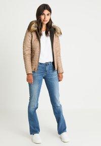 Oakwood - FURY - Leather jacket - dark beige - 1