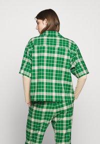 MM6 Maison Margiela - Button-down blouse - green - 0
