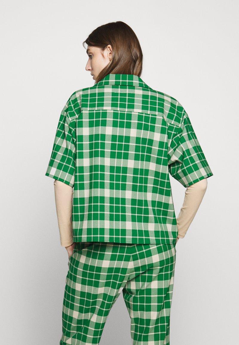 MM6 Maison Margiela - Button-down blouse - green
