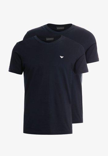 2 PACK - Basic T-shirt - dark blue