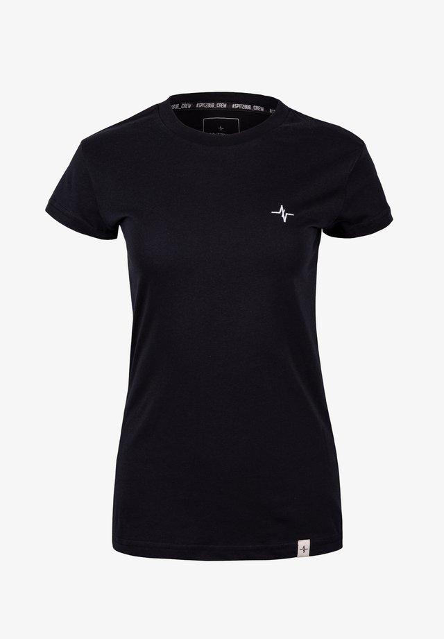 GUNDULA - Basic T-shirt - black