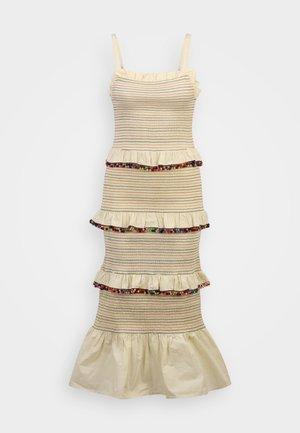 POM POM RAINBOW DRESS - Maxi dress - multi