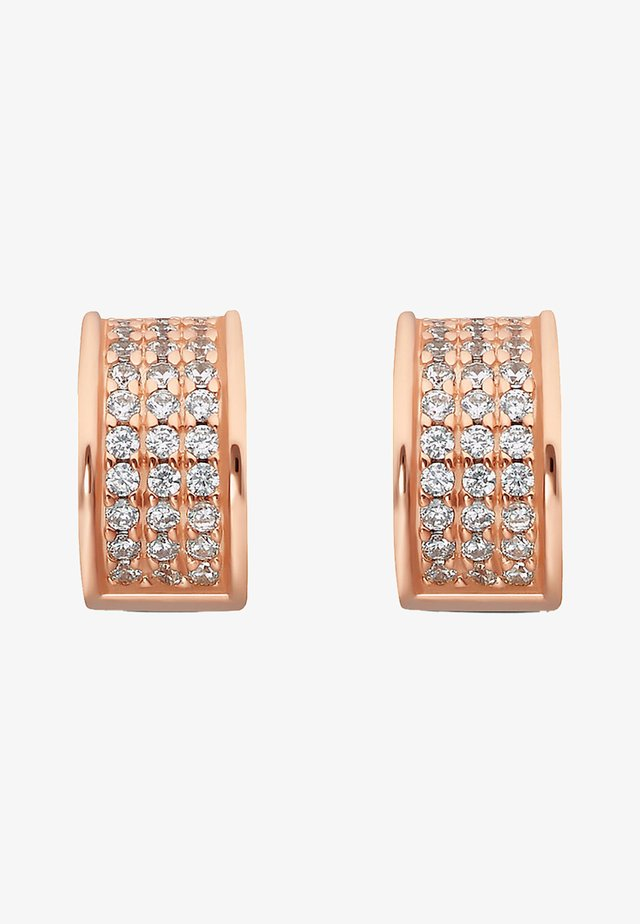 CREOLE - Earrings - rose gold-coloured