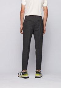 BOSS - BARDON - Trousers - dark grey - 2