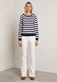 Hunkydory - Sweatshirt - white / blue - 1