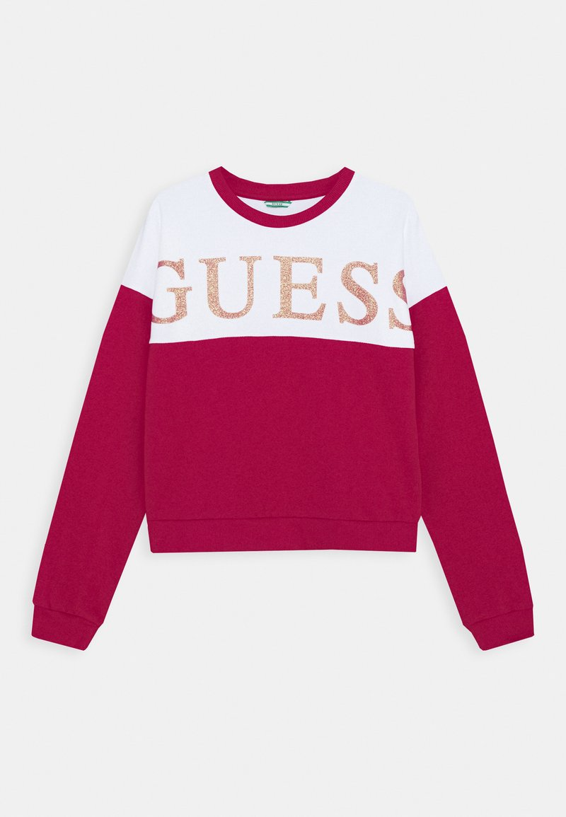 Guess - JUNIOR ACTIVE - Mikina - disco pink