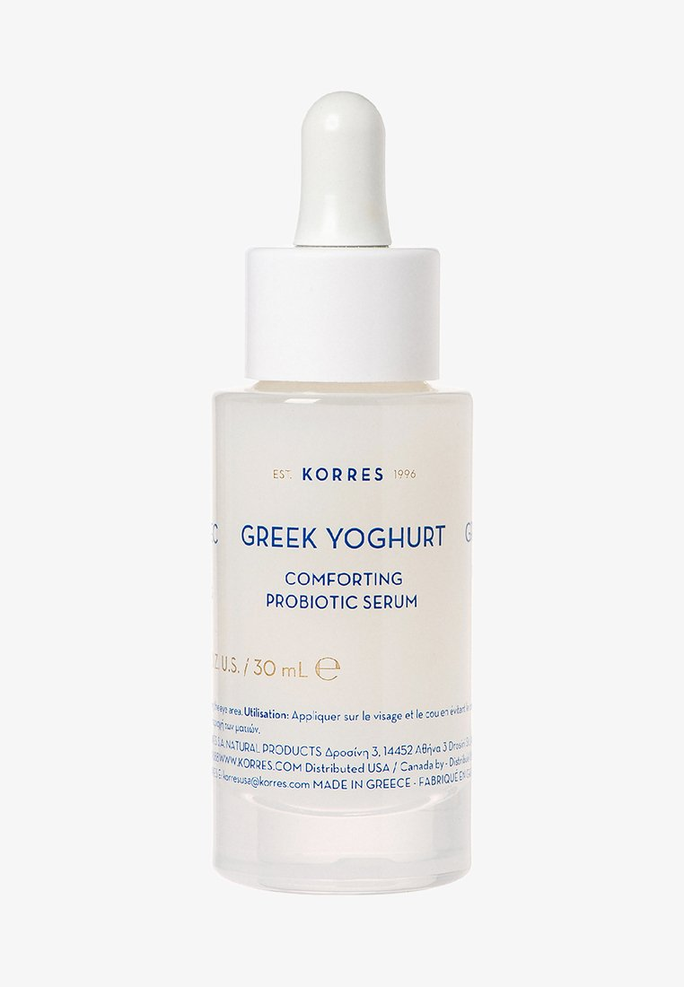 Korres - GREEK YOGHURT COMFORTING PROBIOTIC SERUM - Serum - -