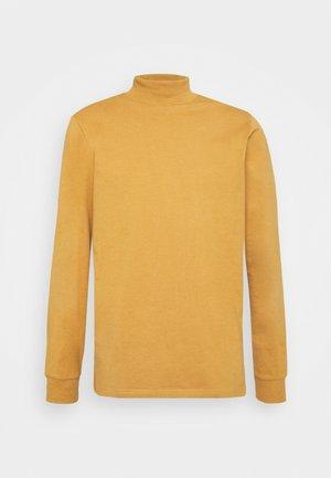 PHIL HIGH NECK - T-shirt à manches longues - bone brown