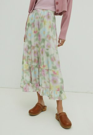 CLARE - A-line skirt - multi coloured