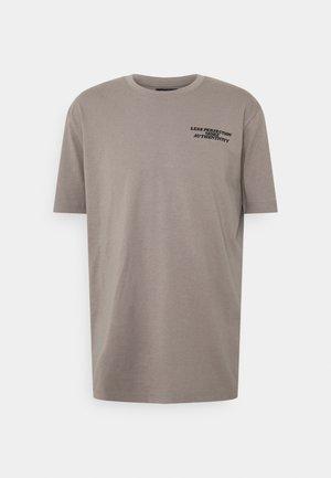 OVERSIZED UNISEX - Print T-shirt - stormfront