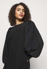 KARL LAGERFELD - MIX DRESS - Day dress - black - 3