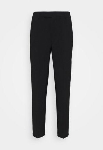 Slim fit business trousers - Trousers - black