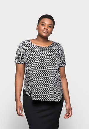 CARVICA  - Blouse - black/white