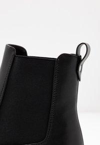 Even&Odd Wide Fit - WIDE FIT - Platform ankle boots - black - 2
