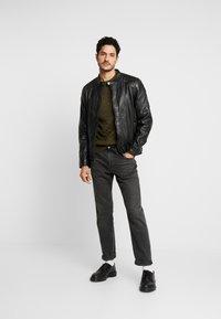 Freaky Nation - BLUERACY - Leather jacket - black - 1