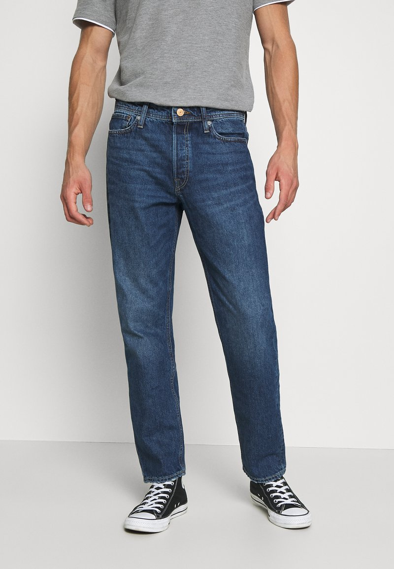 Jack & Jones - JJICHRIS JJORIGINAL - Straight leg jeans - blue denim