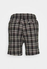 Denim Project - ELASTIC - Shorts - black/beige - 1