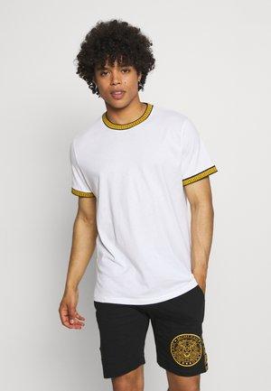 T-shirt z nadrukiem - optic white