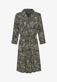 Soaked in Luxury - Shirt dress - black bean print - 4