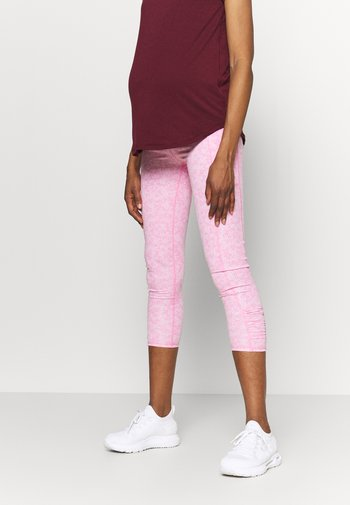MATERNITY LOVE YOU A LATTE - Tights - tonal pinks