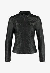 ONLY - ONLBANDIT BIKER - Faux leather jacket - black - 3
