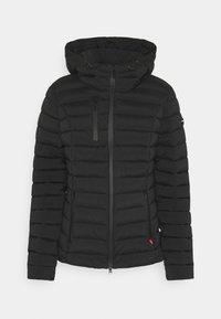 Frieda & Freddies - WOLLMANTEL VENEZIA LEICHT TAILLIERT - Light jacket - black - 0