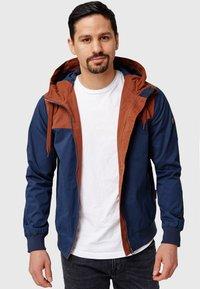 INDICODE JEANS - FLEMMING - Light jacket - rootbeer - 8