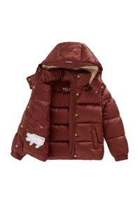 Töastie - LUNAR PUFFERJACKET - Down jacket - copper - 2