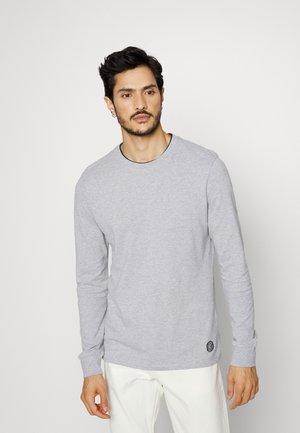 Bluzka z długim rękawem - grey melange