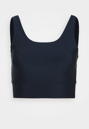 GLOSSY - Sports bra - dark night