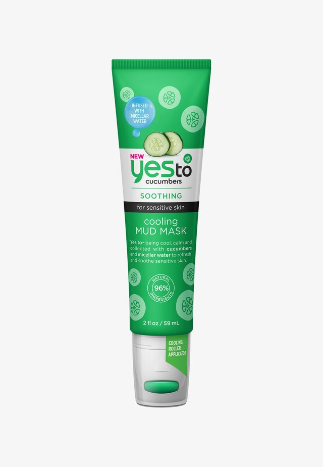 YES TO CUCUMBERS COOLING MUD MASK 59ML - Maseczka - -