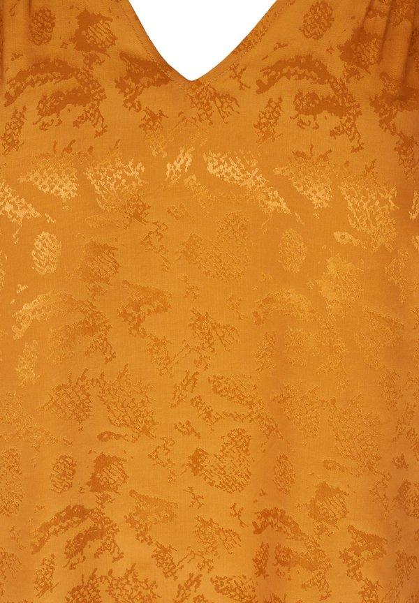 Zizzi Bluzka - orange/pomarańczowy BKZX