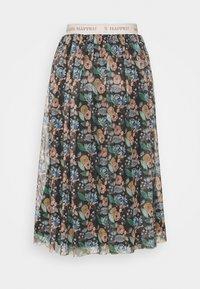 Rich & Royal - SKIRT PRINTED - A-line skirt - black - 5