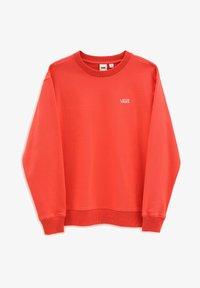 Vans - FLYING V BF FT CREW - Sweatshirt - hot coral - 2