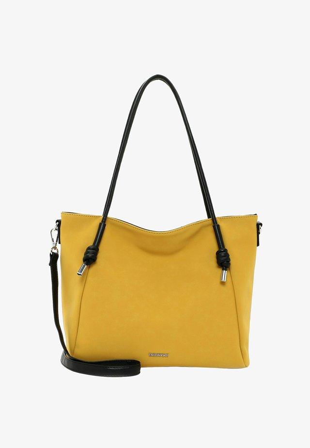 ERIKA - Shopping Bag - yellow