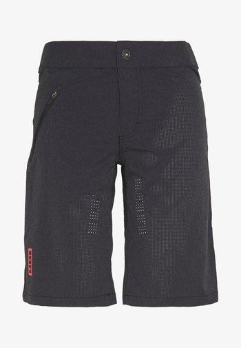 ION BIKESHORTS TRAZE - Pantaloncini sportivi - black