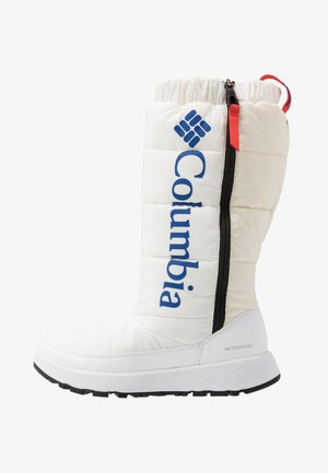 PANINAROOMNI HEATTALL - Winter boots - white/cobalt blue