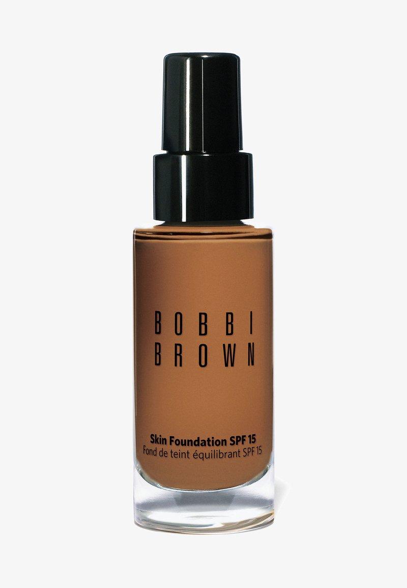Bobbi Brown - SKIN FOUNDATION SPF15 - Foundation - w-086 warm almond