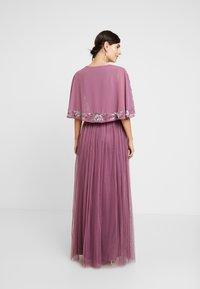 Maya Deluxe - EMBELLISHED KIMONOWRAP MAXI DRESS - Occasion wear - purple - 3