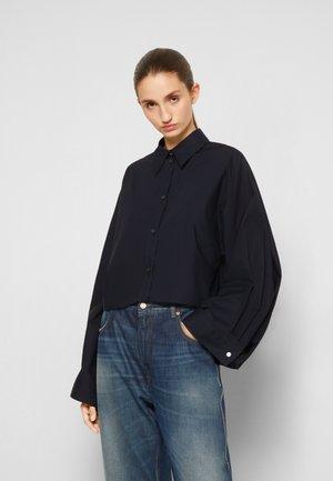 SHIRT - Button-down blouse - navy
