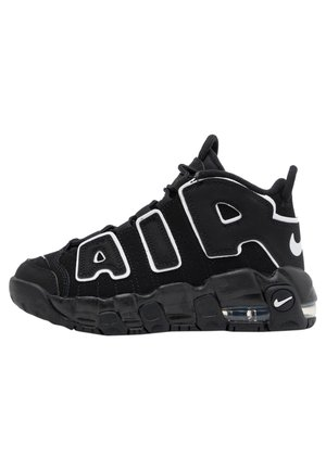 AIR MORE UPTEMPO - Sneakersy niskie - black/white