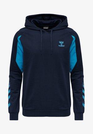 HMLACTION  - Sweatshirt - black iris/atomic blue