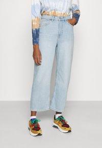 Monki - Straight leg jeans - blue dusty light - 0