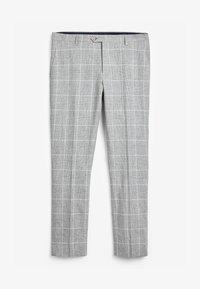 Next - Oblekové kalhoty - grey - 2