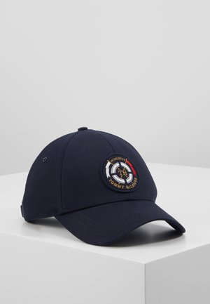 ROUND PATCH  - Cap - blue