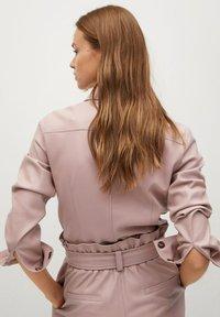 Mango - NASTIA - Button-down blouse - rosa pastel - 1