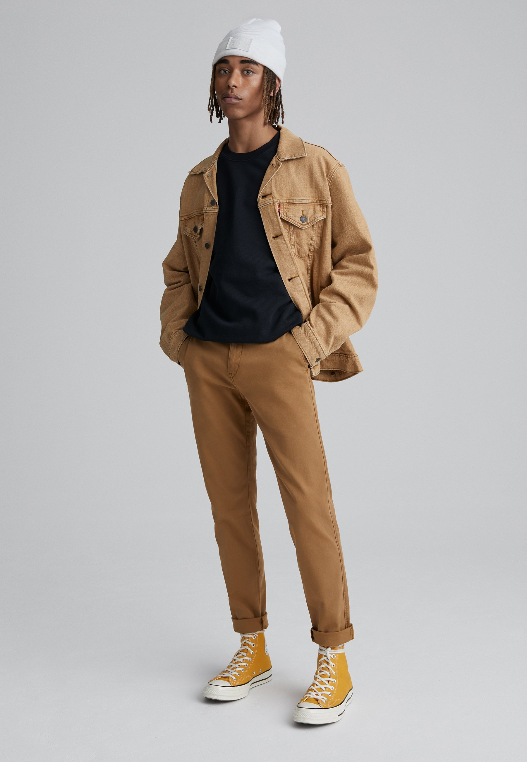 Levi's® STD II - Pantalon classique - desert boots shady