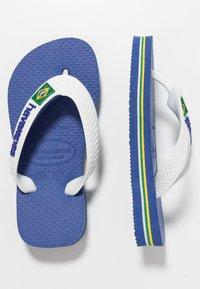 Havaianas - BRASIL LOGO - Teenslippers - blue, white - 1