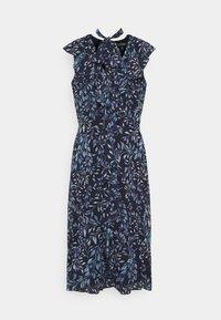PRINTED GEORGETTE DRESS - Denní šaty - navy/blue